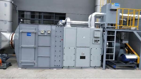 沸石转轮+催化燃烧处理有机废气