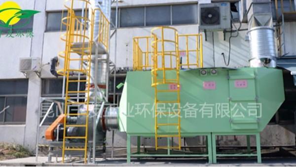 沧州某汽车零部件公司的喷漆废气完工